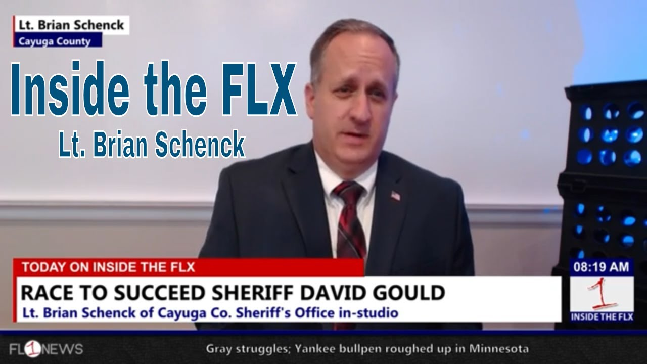 INSIDE THE FLX: Brian Schenck looks to become next sheriff in Cayuga County