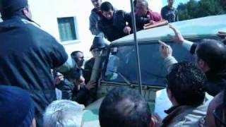 Zaghouan manif anti  conseil municipal 07 02 2011.wmv