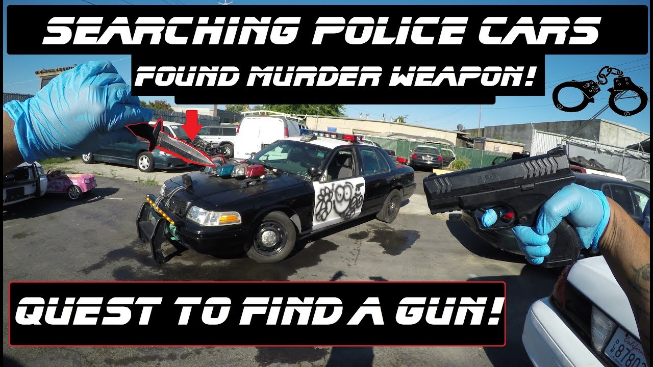 Searching Police Cars Found Murder Weapon! - YouTube c301f7935
