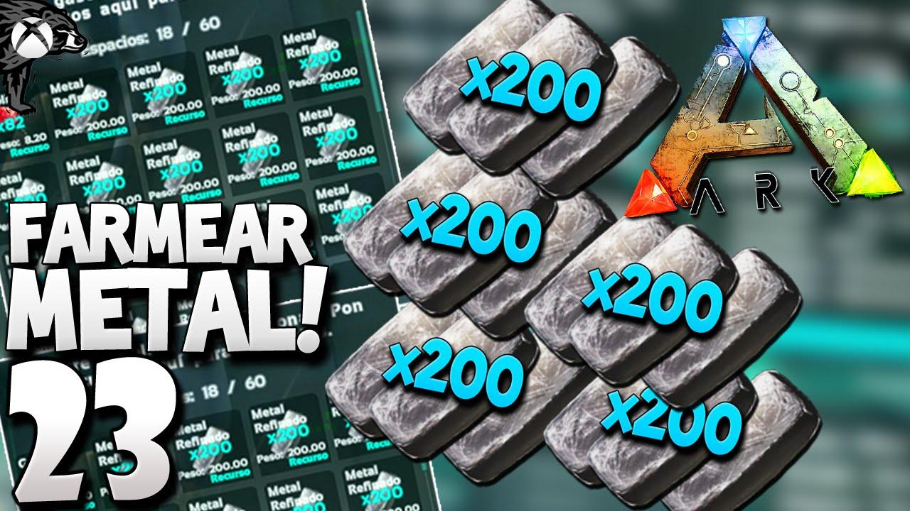 Ark 23 farmear metal en masas mas de 5mil en 10 min ark mas de 5mil en 10 min ark survival evolved xbox one youtube malvernweather Image collections