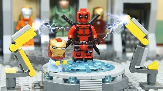 LEGO IRON MAN's Suit was Stolen by Baby Deadpool
