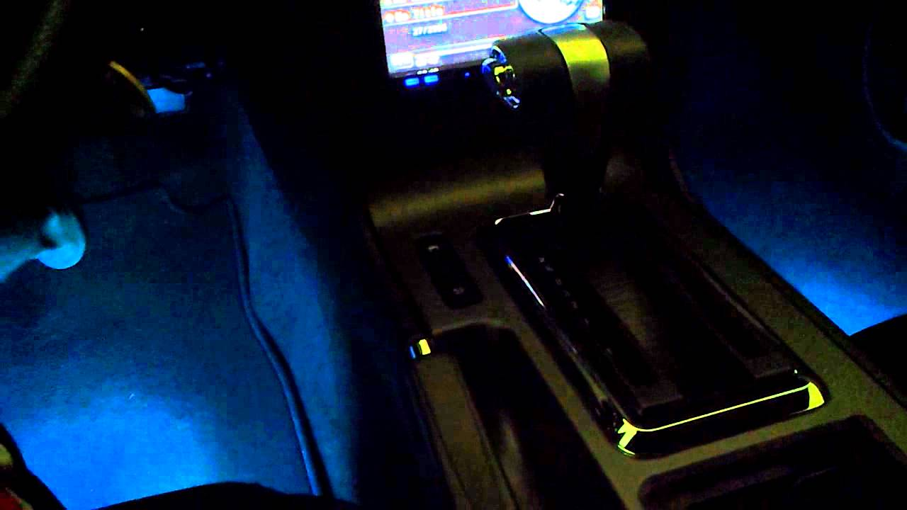 LED Glow Interior Lights 2011 Mustang