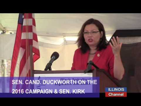 US Rep Tammy Duckworth (D) Candidate for the US Senate