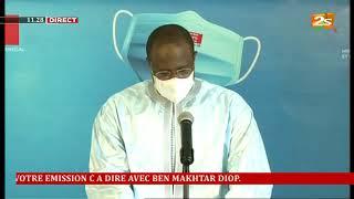 """Suivez en direct le point de situation du """"Coronavirus"""" au Sénégal de ce Samedi 06 Juin 2020"""