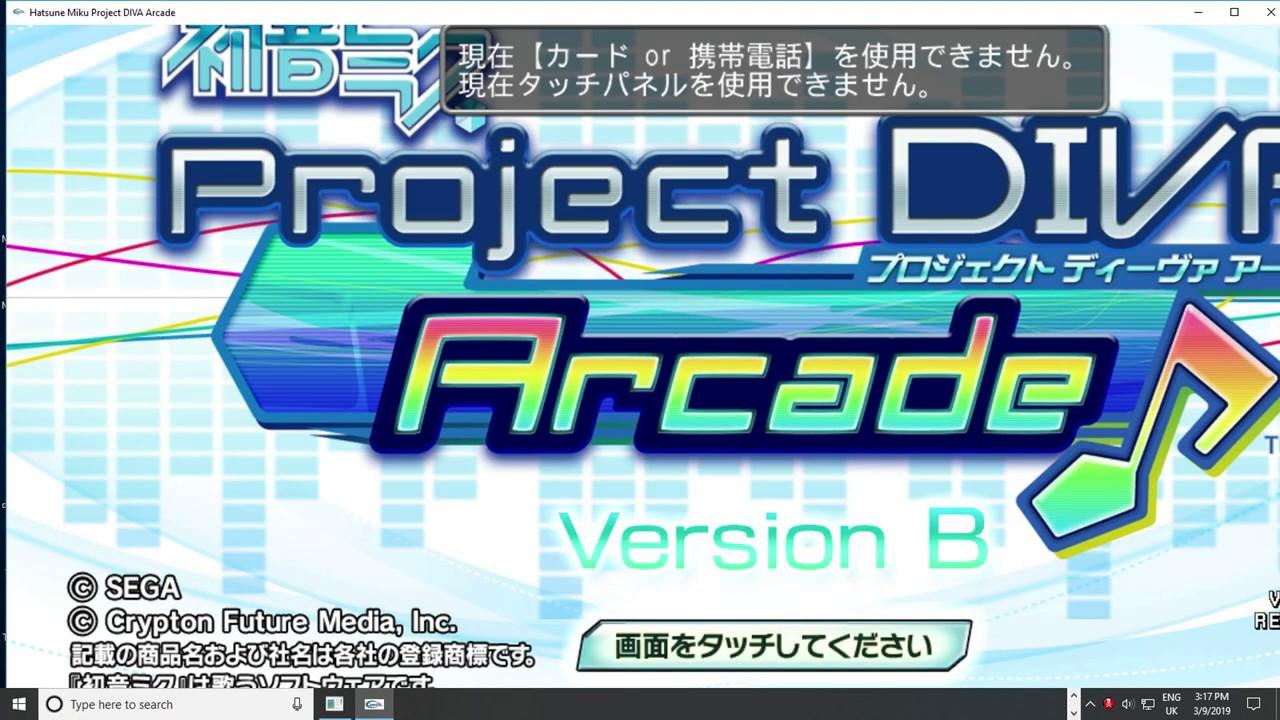 Hatsune Miku: Project DIVA Arcade teknoparrot 1 92 pc arcade