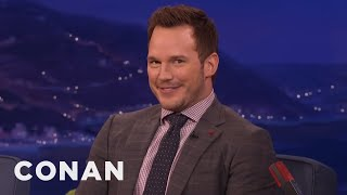 Chris Pratt's Filthy German Joke  - CONAN on TBS