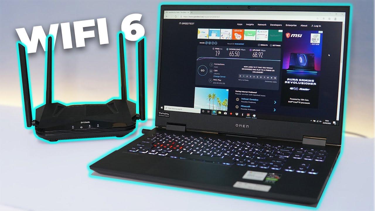 Wifi 6 Percuma ?! Speed Internet di Indonesia Lambat ?!  Ft D-Link AX1500