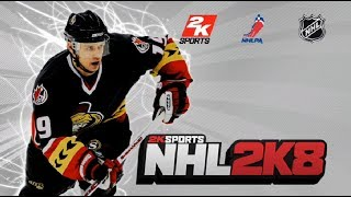 Hockey Game History - NHL 2K8