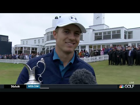 Jordan Spieth on Open win, bizarre 13th hole