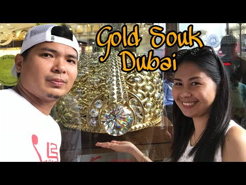 VISITING DUBAI GOLD SOUK   DEIRA DUBAI   ALEXCESS PRINXIS