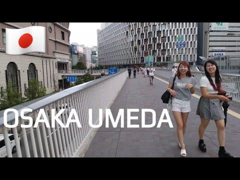 🇯🇵 Japan Walking Tour - Osaka Umeda Area | Slow TV 4K 👥