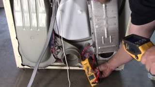 Converting a standard household dryer to 110 volts @1400 watts from 240 volts @ 5500 watts