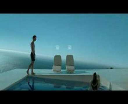 Airfrance pub piscine youtube for Pub cash piscine