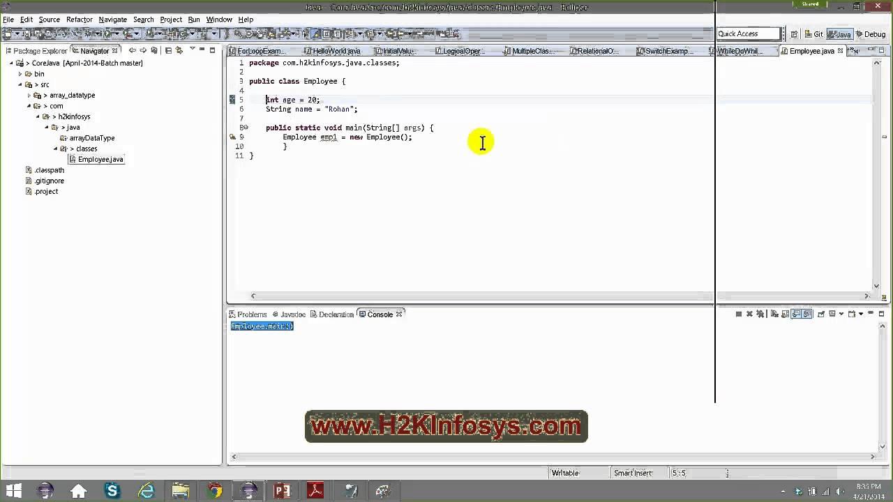 Java video tutorials packages in java classes and interfaces java video tutorials packages in java classes and interfaces tutorial 4 hd baditri Choice Image