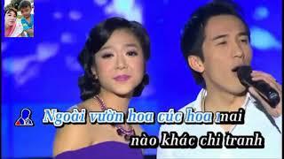 Karaoke Tup Leu Ly Tuong thieu giong nu Hoang Khiem74