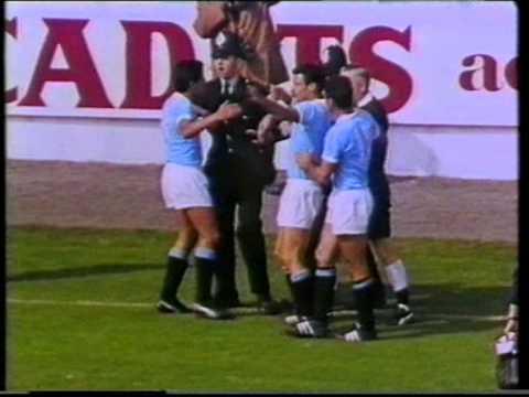 Germany - Uruguay 4-0. 1966 World cup quarterfinal