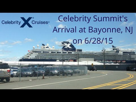 GTS Celebrity Summit's Arrival in Bayonne, NJ on 6/28/15