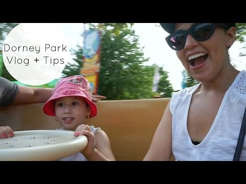 Dorney Park Vlog + Tips (Pennsylvania Amusement Park)