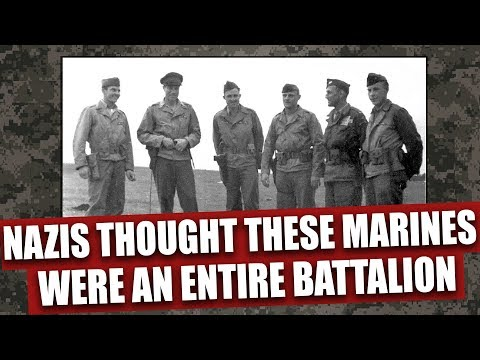 These 4 Marines killed so many Germans, the Nazis thought they were an entire allied batallion