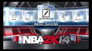 NBA 2K14 PS4 XBOXONE - Navigating Menus