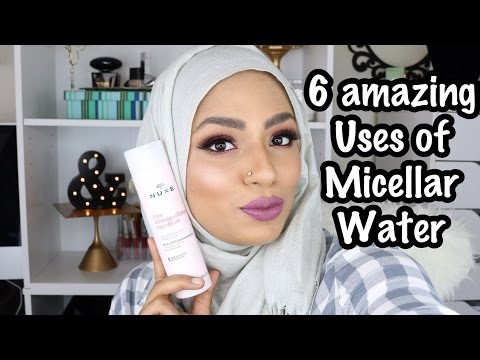 6 AMAZING USES OF MICELLAR WATER