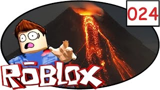 ROBLOX erupts [024] volcano!  ¦ Lets play | german | German