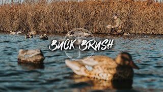 Duck Hunting- Shooting Them Close in the Buck Brush Hole!