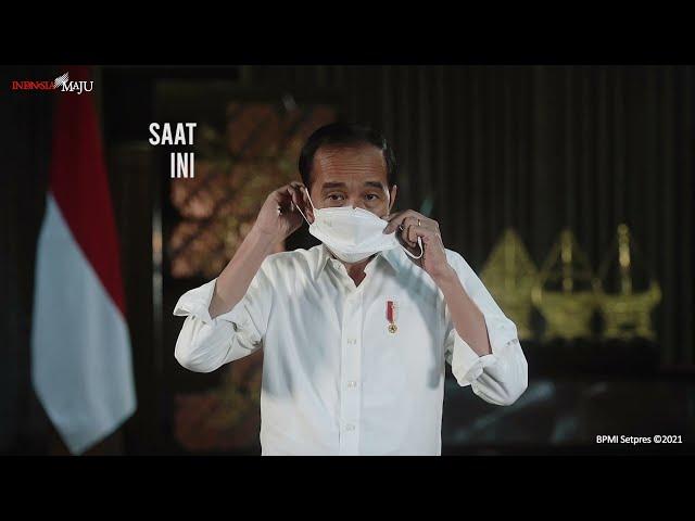 Presiden Jokowi : Semua Wajib Pakai Masker