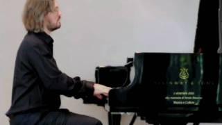 Elliott Carter Piano Sonata, John Anderson, Part 3 - Andante- Allegro giusto