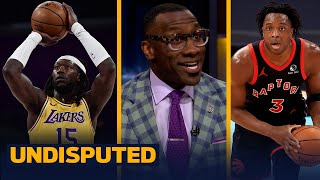 Skip & Shannon react to Lakers-Raptors scuffle, Montrezl & OG Anunoby ejections | NBA | UNDISPUTED