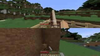 PC Splitscreen Survival Minecraft
