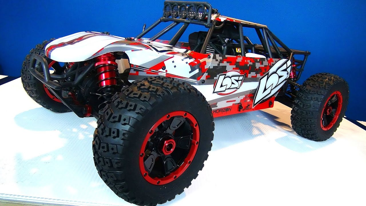 RC ADVENTURES Losi DBXL 4x4 Buggy Unboxing Gas Powered 1 5th Scale Desert Buggy XL
