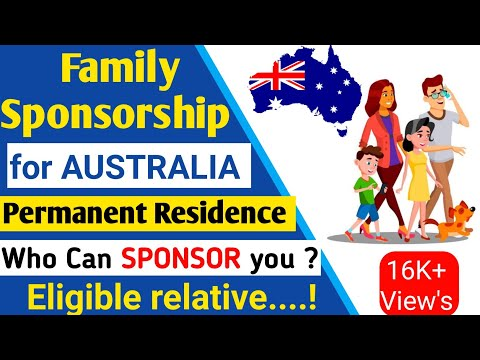 Family Sponsorship for AUSTRALIAN PR, WHO DO YOU THINK CAN SPONSOR YOU?