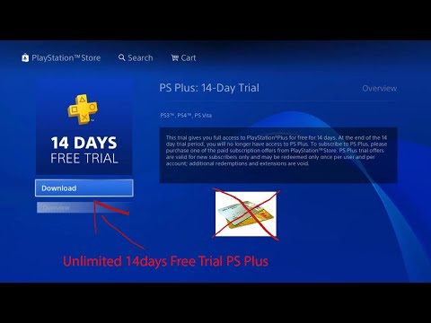 How To Get UNLIMITED FREE PS Plus 14 Days Free Without Credit Card Without Paypal 2020