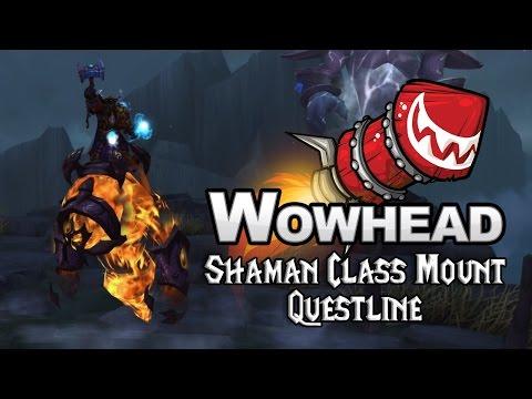 Shaman Class Mount Questline