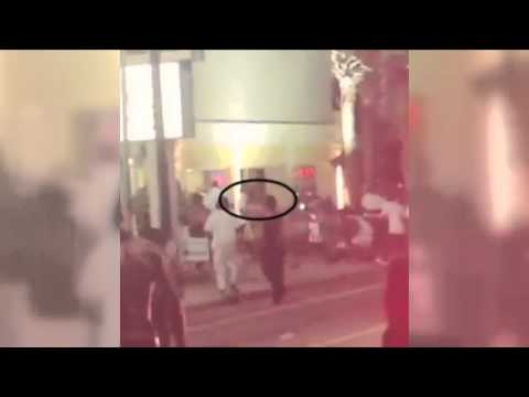 Police video of suspect in Bermuda Sands Memorial Day weekend shooting