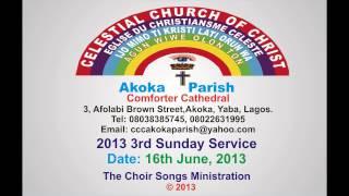 celestial church of christ comforter cathedral akoka parish 1 sunday 16th june 2013