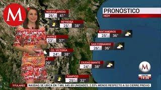 El clima del 2 de agosto, con Arlett Fernández