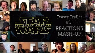 Star Wars Teaser Trailer #2 Reactions Mash-up. You will love this!