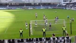 "V. Guimarães ""B"" 0-1 Boavista FC (Golo Júlian) [15-02-2014]"