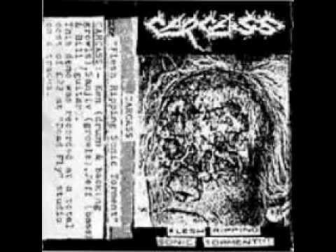 CARCASS - Flesh Ripping Sonic Torment Demo + Rehearsal (FULL) thumb