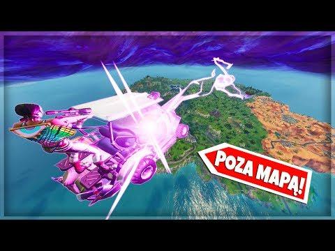 ⚡ PIORUN Z WYSPY WYSTRZELA MNIE POZA MAPĘ! TRYB PLAC ZABAW - Fortnite Battle Royale