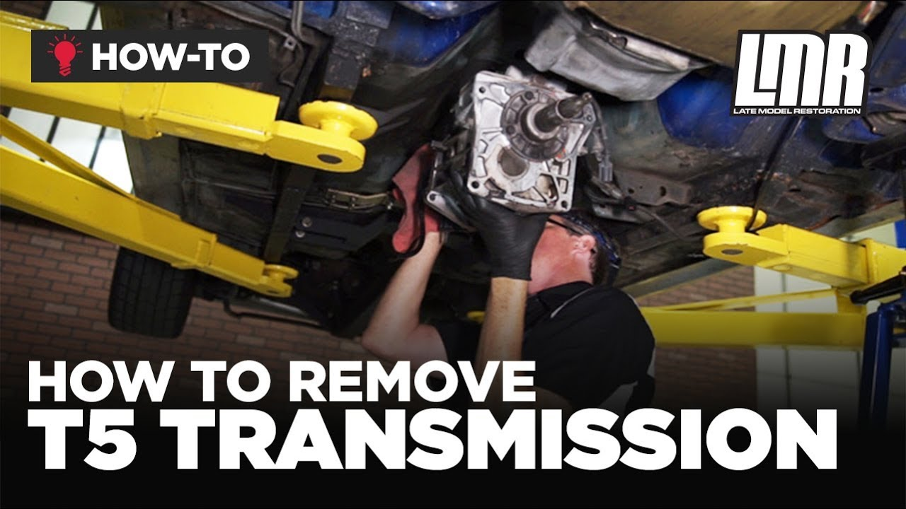 how to remove mustang t5 transmission 1982 2004 5 0l 3 8l 2 3l  [ 1280 x 720 Pixel ]
