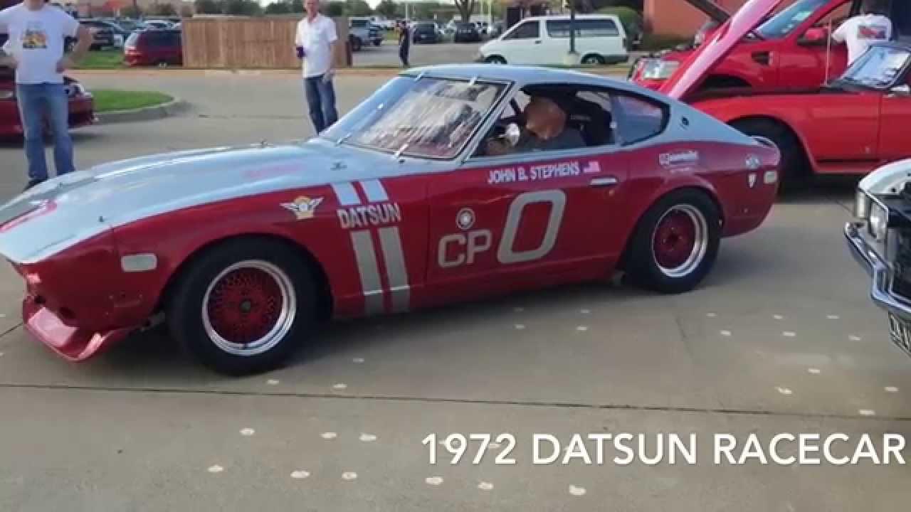 1972 Datsun 240Z LOUD Race Car - YouTube