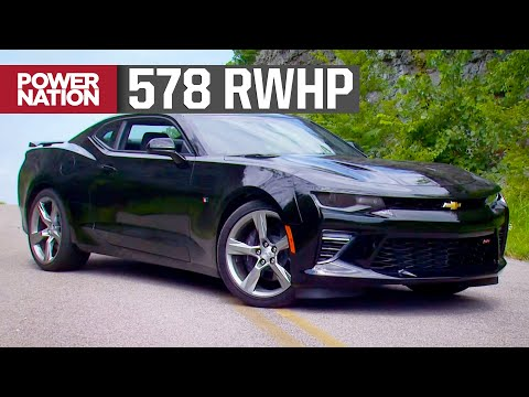 Supercharged 2016 Camaro SS LT1 Hits The Dyno - Detroit Muscle S3, E19