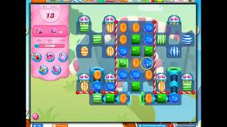 Candy Crush Level 3664, 24 Moves (1 auto booster; for no boosters, see https://youtu.be/X0klfHDcoJo)