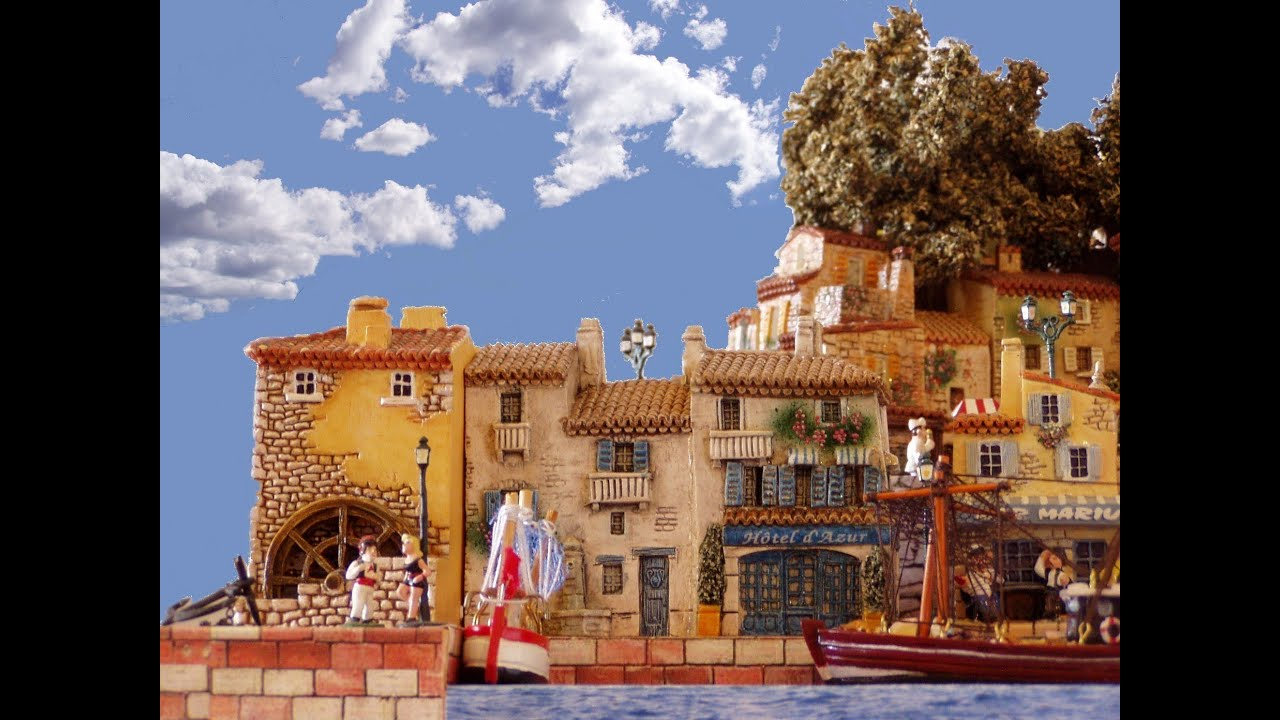 village de provence sur un air de musique provencale la farandole di tarascaire youtube. Black Bedroom Furniture Sets. Home Design Ideas