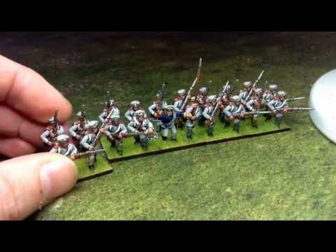 20mm Napoleonic Prussian Reserve Infantry