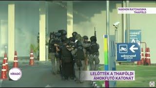 Lelőtték a thaiföldi ámokfutó katonát