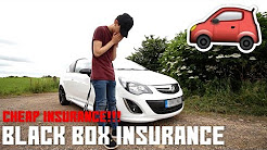 BLACK BOX INSURANCE REVIEW! (CHEAP INSURANCE FOR NEW YOUNG DRIVERS)